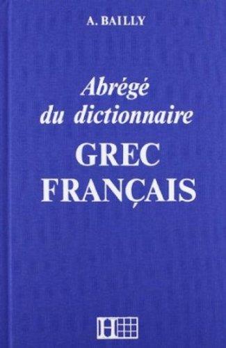 livre gratuit a telecharger dictionnaire abr 233 g 233 grec fran 231 ais