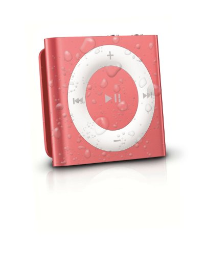 Latest Generation Pink Apple Ipod Shuffle Waterproofed By Audioflood