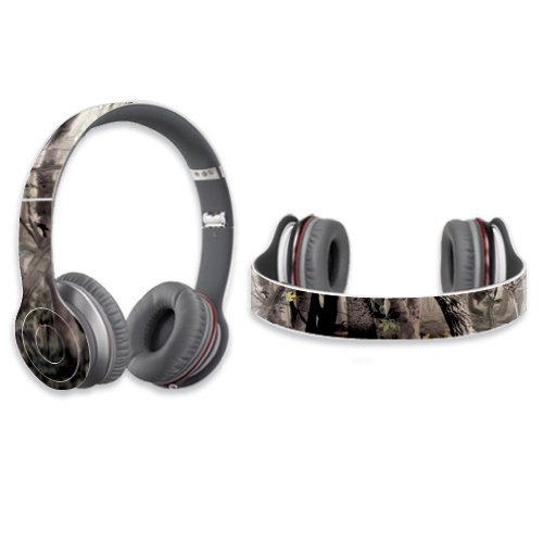 Mightyskins Protective Vinyl Skin Decal Cover For Dr. Dre Beats Solo Hd Headphones Sticker Skins Tree Camo