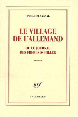 Le village de l'Allemand - Boualem Sansal