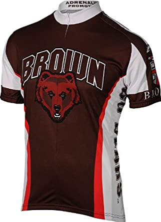 Adrenaline Promotions Brown University Cycling Jersey by Adrenaline Promotions
