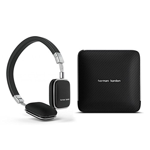 Harman Kardon Esquire Wireless Speaker System And Soho Headphones For Android (Black)