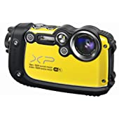 Fujifilm XP200 FinePix Digital Camera - Yellow (16MP, 5x Optical Zoom) 3 inch LCD