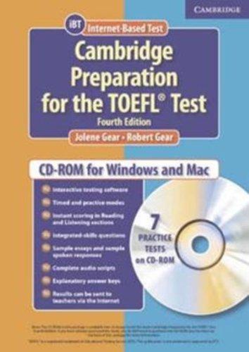 Cambridge Preparation for the TOEFL® Test Student CD-ROM...