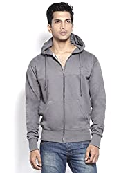 Kilimanjaro Hoody Sweatshirt in Fair Trade Organic Cotton Fleece Brushed