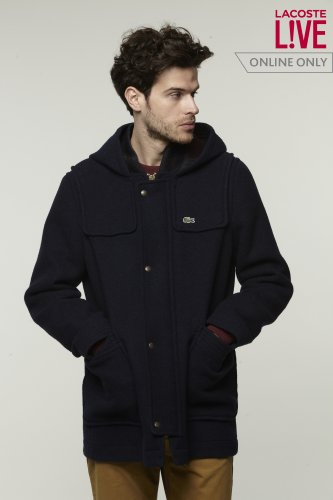 L!VE Wool Duffle Coat