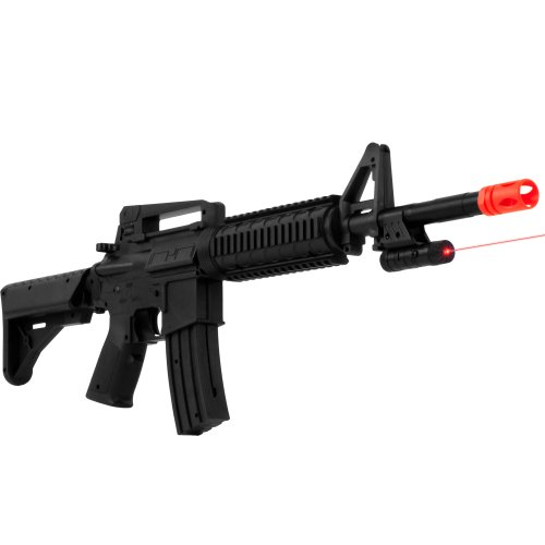 Whetstone M-16B Airsoft Rifle, Black