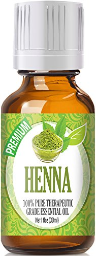 Henna Essential Oil (30ml) 100% Pure, Best Therapeutic Grade Essential Oil - 30ml / 1 (oz) Ounces
