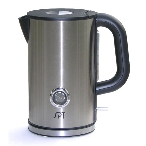 Sunpentown SK-1717 Cordless 1-2/3-Liter Kettle with Temperature Display
