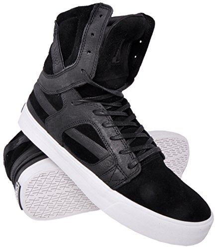 B00OUDGUHA Supra Skytop II HF Black/White Sneaker Men's 8.5, Women's 10 D – Medium