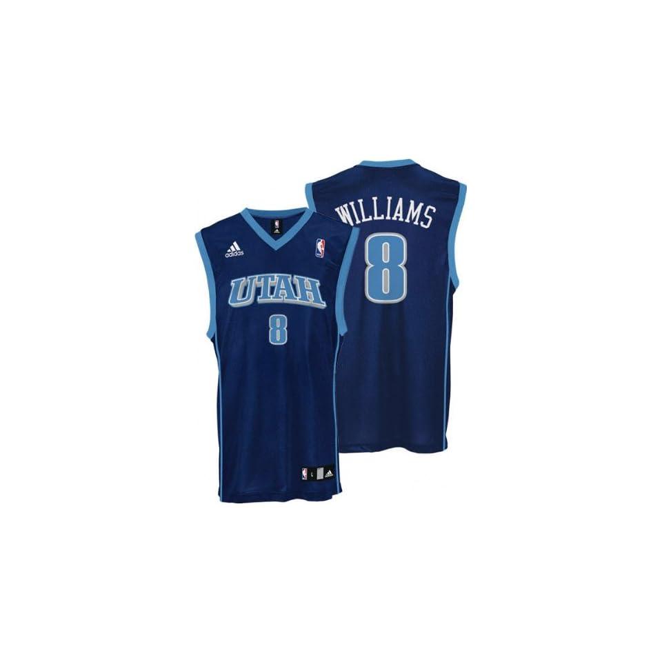 f8d9467ac68d Deron Williams adidas NBA Kids 4 7 Replica Utah Jazz Jersey on PopScreen
