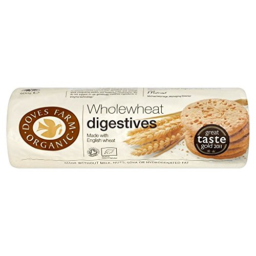 Doves Farm Organic Wholewheat Digestives (400G)