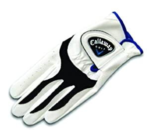 Callaway Kids XJ Gant de golf Junior Main droite Blanc Grip M