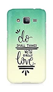 AMEZ do great things with love Back Cover For Samsung Galaxy J2
