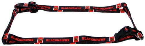Hunter MFG 1-Inch Chicago Blackhawks Adjustable Harness, Large (Chicago Blackhawks Dog Harness compare prices)