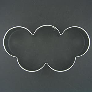 Olympic Rings Sports Ceremony 5 in Metal Cookie Cutter