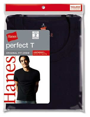 Hanes Dyed Crew 2 Pack, L-Assorted