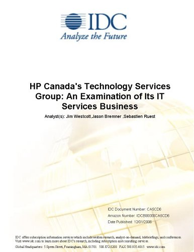 HP Canada's Technology Services Group: An Examination