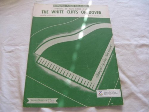 The White Cliffs Of Dover Nat Burton 1943 Sheet Music Folder 437 Sheet Music