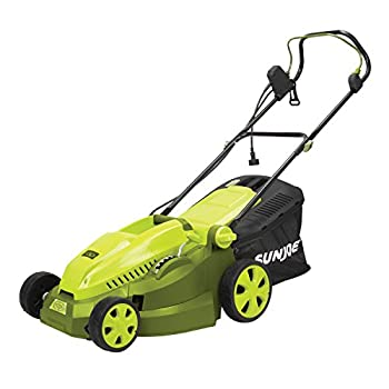 Sun Joe MJ402E Mow Joe 16-Inch 12-Amp Electric Lawn Mower + Mulcher