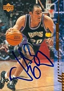 Jon Barry Autographed Hand Signed Basketball card (Sacramento Kings) 2000 Upper Deck... by Hall of Fame Memorabilia