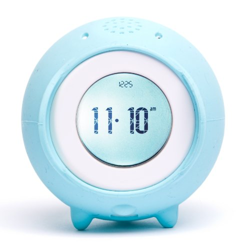 Tocky Runaway Alarm Clock with Mp3 - Aqua
