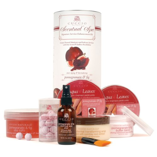 CUCCIO NATURALE Pomegranate & Fig Scentual Spa Signature Service Enhancement Kit