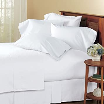"sheetsnthings 22 inch Super Deep Pocket Solid White King size Sheet Set 100%Egyptian Cotton 300 Thread Count fits up to 22"" Mattress at Sears.com"
