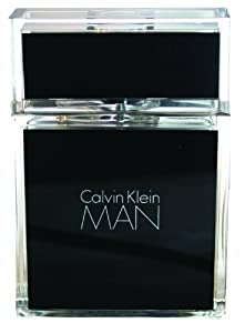 Man by Calvin Klein for Men, Eau De Toilette Spray, 3.4 Ounce