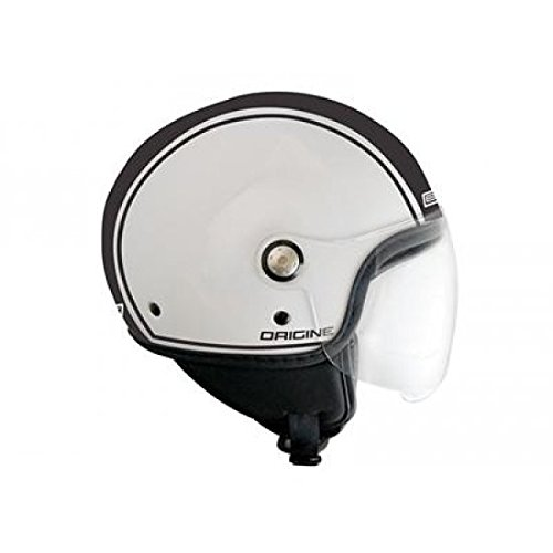 OR008072 - Casque Origine Mio Dandy Mat Blanc/Noir Xs