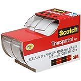 Scotch Transparent Tape, 3/4 in x 250 Inches, 2 Rolls (2157SS)