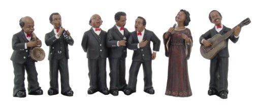 7-Stcke-Figur-Skulptur-Statue-Jazz-Band-6-12-inch-H-95073-von-ACK