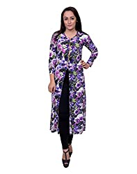 Snoby Purple Long Shift Dress (SBY6020)