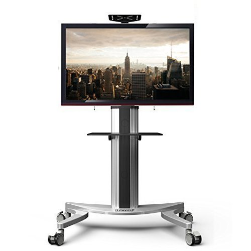 Loctek P2 Mobile TV Floor Cart for LCD LED Plasma Flat Panels Stand with Wheels Mobile fits 32''-70'' (Flat Panel Cart compare prices)