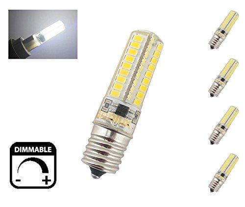 Bonlux E17 LED Appliance Bulb 5W Dimmable 110V Intermediate Base LED Daylight Bulb 40W LED Replacement(Pack of 4) (Appliance Led Bulb Intermediate compare prices)