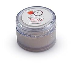 Juicy Chemistry Rosy Rose Lip Scrub, 10 g