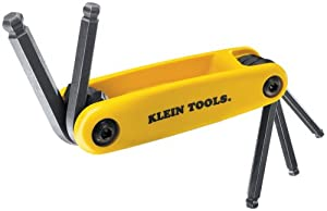 Klein 70571 Grip-It Ball Hex-Key Sets with 5-Inch Sizes, Yellow at Sears.com