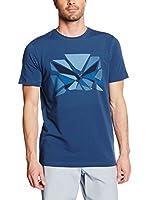 Salewa Camiseta Manga Corta Frea Eagle Co M S/S (Azul Oscuro)