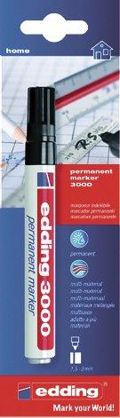 "UHU Permanentmarker ""edding 3000"" 3000 EDDING PERMANENT MARKER SCHW.3MM 3000-702550"