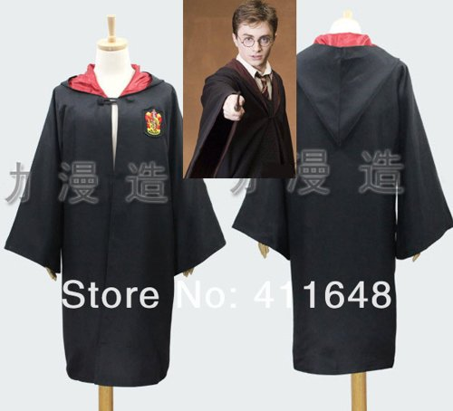 Harry Potter Adult Robe Cloak Cape Adult Cape Cosplay Costume Fancy Party clothing