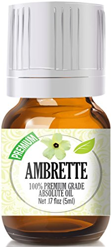 Ambrette 100% Pure, Best Therapeutic Grade Essential Oil - 5ml