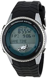 NFL Mens NFL-SW-PHI Schedule Series Philadelphia Eagles Watch by Game Time