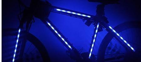 夜間に目立つ 自転車 ボディー ライト