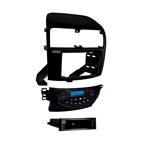 Metra 99-7809B Double/Single DIN Dash Kit for 2004 - 2008 Acura TSX without Navigation (Matte Black)