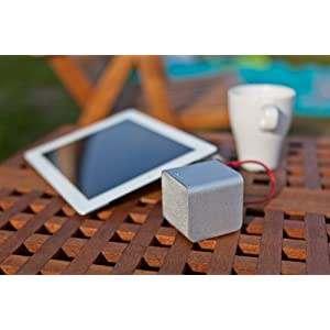 Nuforce Silver Cube Portable Speaker, Headphone Amp, and USB DAC