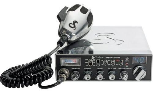 New Cobra 29 Ltd Chrome Heavy-Duty Dynamic Microphone 40 Cb Radio Channels