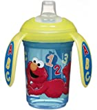 Munchkin Sesame Street Non-Insulated Trainer Cup, 7 Ounce, Blue