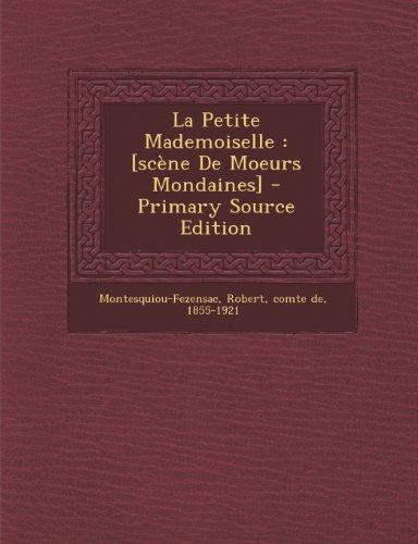 La Petite Mademoiselle: [scène De Moeurs Mondaines]