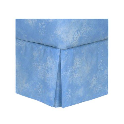 Sky Blue - Bedskirt - Twin front-1066577