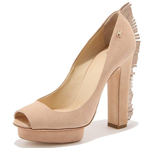 82940 decollete spuntata ELISABETTA FRANCHI CELYN scarpa donna shoes women [37]